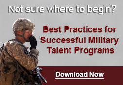 Best Practices for Military Talent Programs