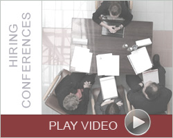 Employer Hiring Conference Video